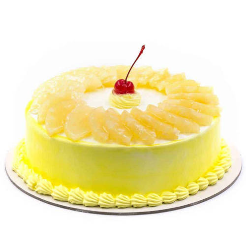 Order Pineapple Cake Online from Taj or 5 Star Hotel Bakery