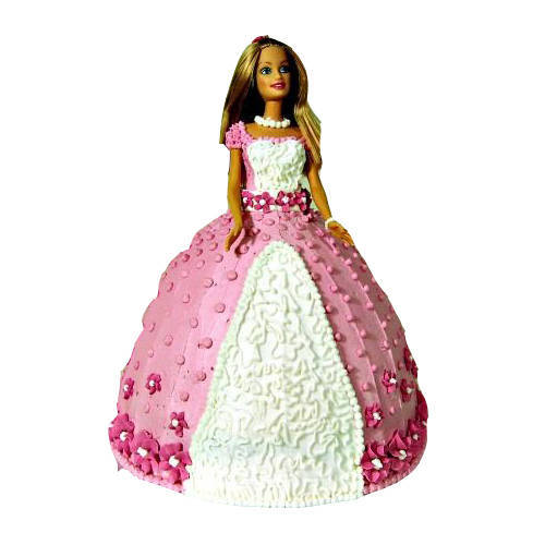 Colorful Barbie Cake