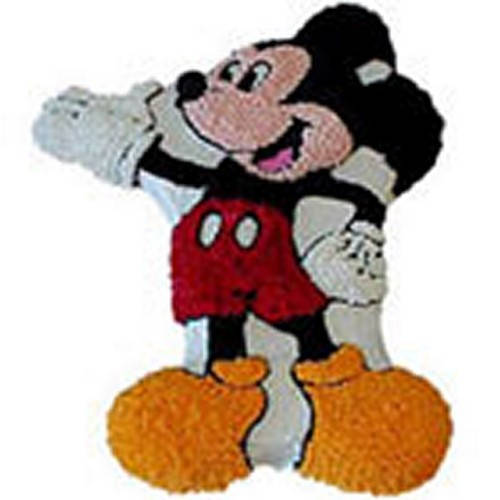 Appetizing Mickey Mouse Cake