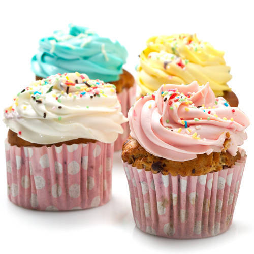 Mouth-watering Selection of Cup Cakes (4 Pcs.)