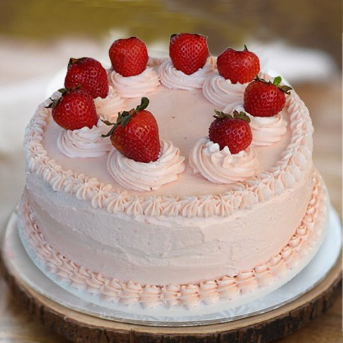 Order Strawberry Cake from 3/4 Star Bakery