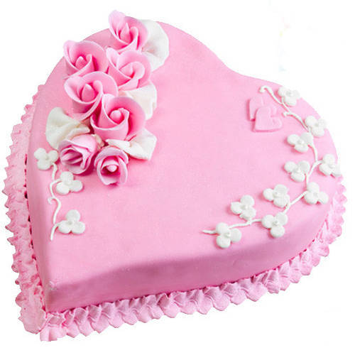 Gift Online Love Cake from 3/4 Star Bakery