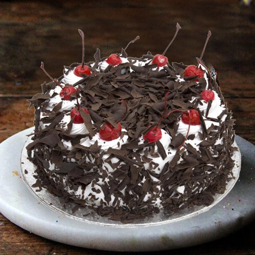 Deliver Black Forest Cake from 3/4 Star Bakery
