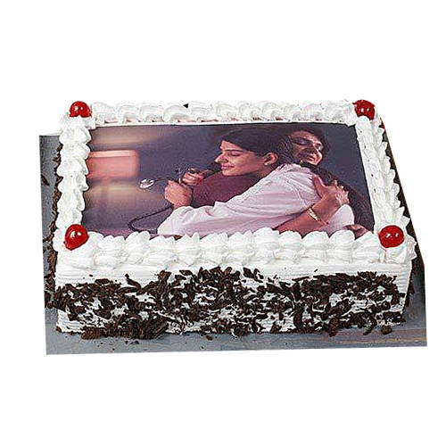 Order Black Forest Photo Cake Online