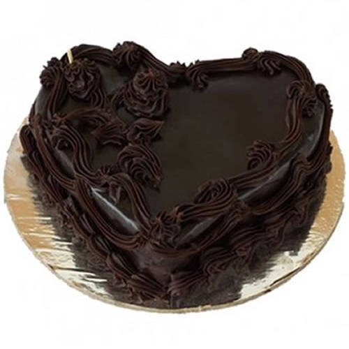 Book Online Heart-Shape Chocolate Cake