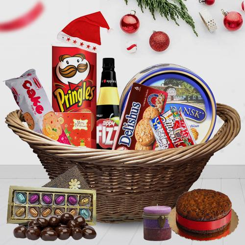 Sweet Sensation Christmas Gift Basket
