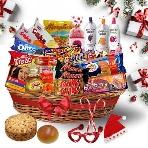 Creative Christmas Treat Basket<br>