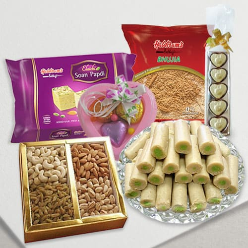 Portions-of-Elation Assort from Haldiram