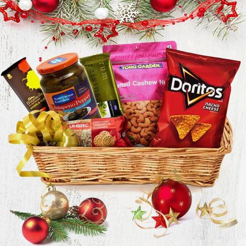 X-mas Gift Basket of Goodies