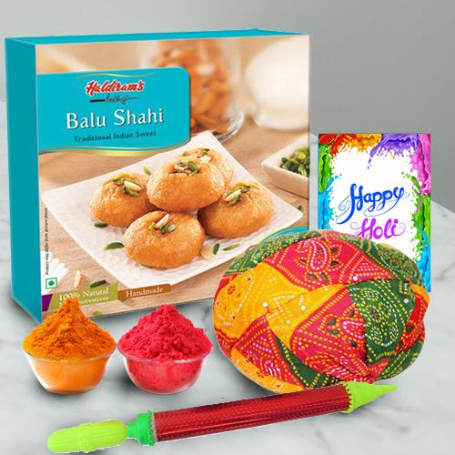 Surprising Gift Hamper for Holi