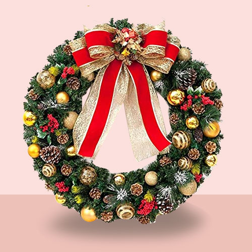 Bewitching Christmas Wreath