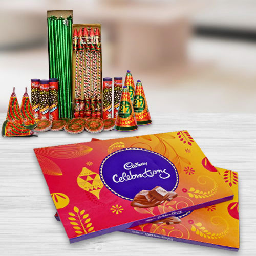 Incredible Combo of Cadbury Celebration Pack and Crackers
