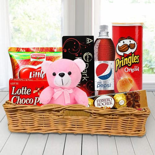 Basket of Gourmet Treats