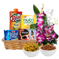 Basket of Healthy Gourmets