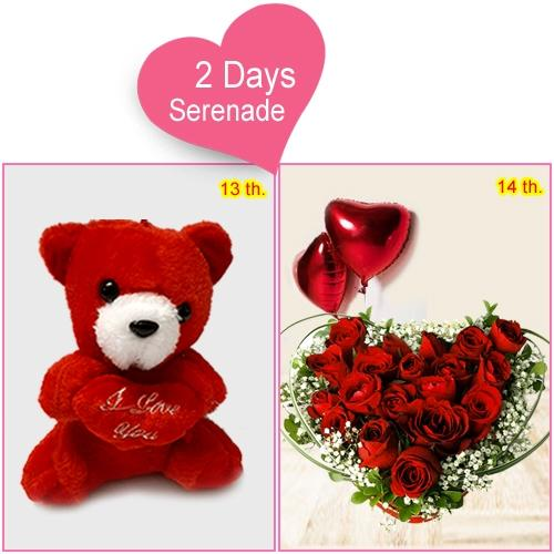 Exclusive 2-Day Serenade Gift for V-Day