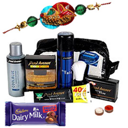 Exclusive Park Avenue Gift Surprise  with Free Rakhi, Roli Tilak and Chawal