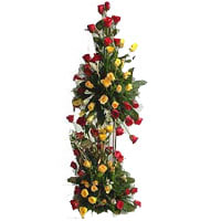 Heavenly 100 Flashy Towering Roses