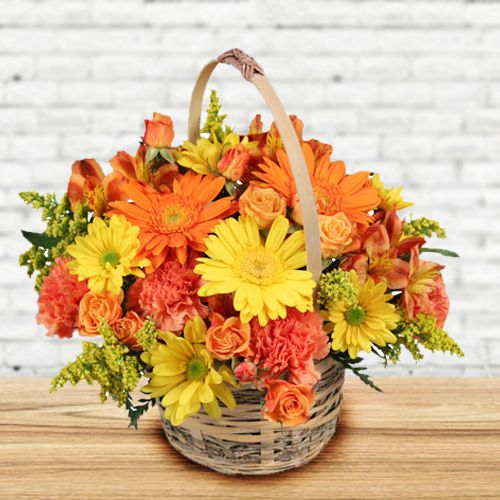 Enchanting Fresh Seasonal Flowers Bouquet of Love and Happiness