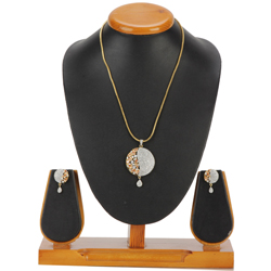 Delicate Attraction Pendent and Earrings Set