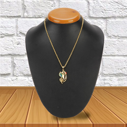 Classy Present of Ganesh Pendant from Avon