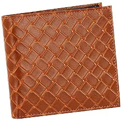 Light Brown Shaded Genuine Leather Mens Wallet from Leather Talk