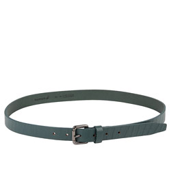 Chic Ladies Green Belt Made of Leather from Titan Fastrack