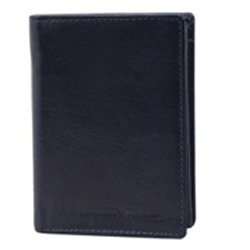Classic Black Coloured Urban Forest Leather Wallet for Men