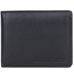 Charming Longhorn Leather Wallet in Brown