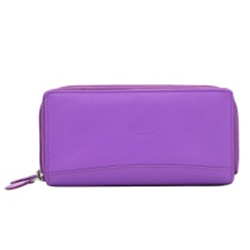 Soothing Genuine Ladies Leather Wallet of Purple Colour from Urban Forest