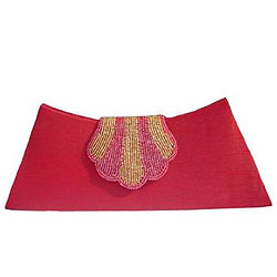 Spice Art�s Shiny Pomp Ladies Clutch