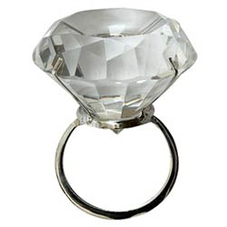 Gift your loved one by delivering this World�s Largest Crystal Diamond