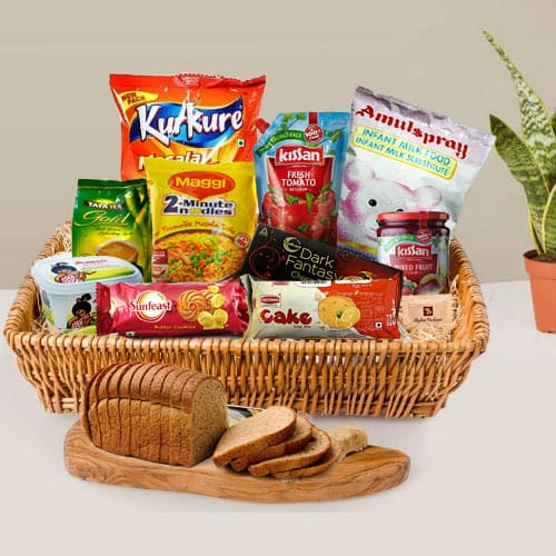 Mouth-watering Breakfast Hamper