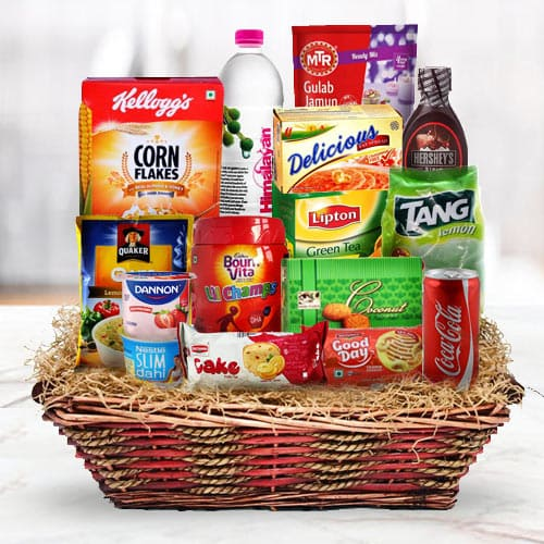 Energetic Deck the Halls Breakfast Gift Hamper