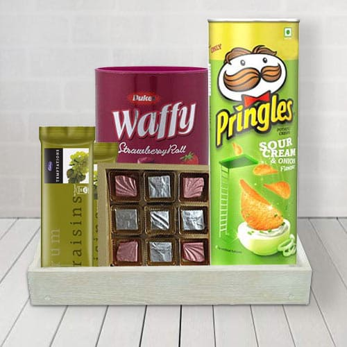 Delectable Chocolates  N  Assortments Hamper for Him