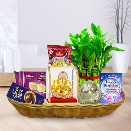 Birthday Wishes Gift Basketbr To Bangalore