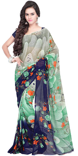 Exotic Georgette Saree