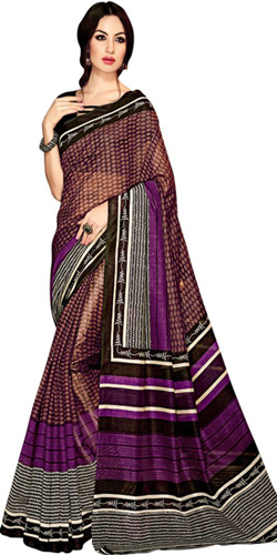 Trendy Handloom Art Silk Saree