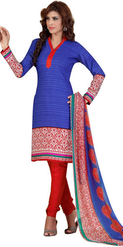 Stylish Women�s Printed Salwar Suit from Siya Brand