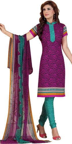 Trendy Women�s Favourites Siya Brand Printed Salwar Suit