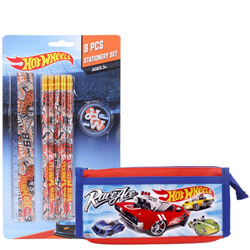 Remarkable Hot Wheels Stationery Set for School Going Kids