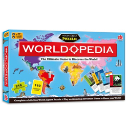 Creative Madzzle Worldopedia Manufactured by MadRat Games