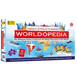 Enjoyable Madzzle Worldopedia Megastructures Manufactured by MadRat Games
