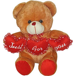 Beloved Tri Heart Bear