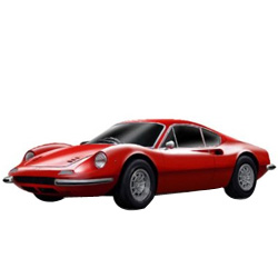 Bburago�s Winsome Promptness Ferrari Model Car