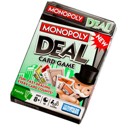 Contesting Monopoly Deal Card Game