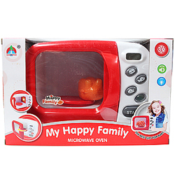 Pretty Microwave Oven Play Set for Child from My Happy Family