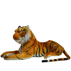 Cuddly Tiger Soft Toy