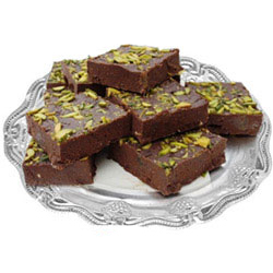 Delectable Pack of Chocolate Barfi-500g
