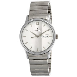 Enthralling Corporate Showstopper Titan Wrist Watch for Gents <br>