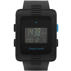 Charismatic Fastrack Black Watch for Gents<br>